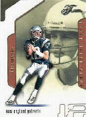 2002 Flair Collection #89 Tom Brady