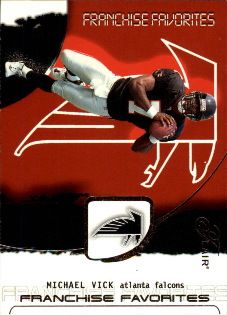 2002 Flair Franchise Favorites #3 Michael Vick
