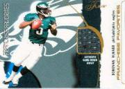 2002 Flair Franchise Favorites Jerseys #7 Donovan McNabb