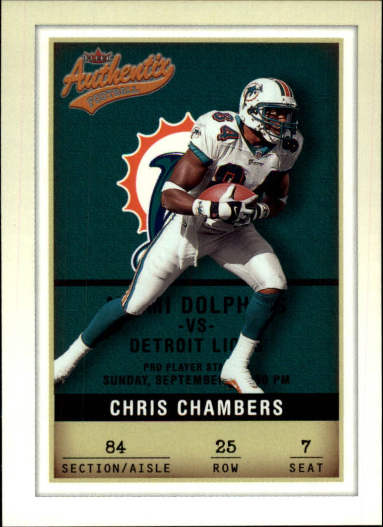 2002 Fleer Authentix #25 Chris Chambers