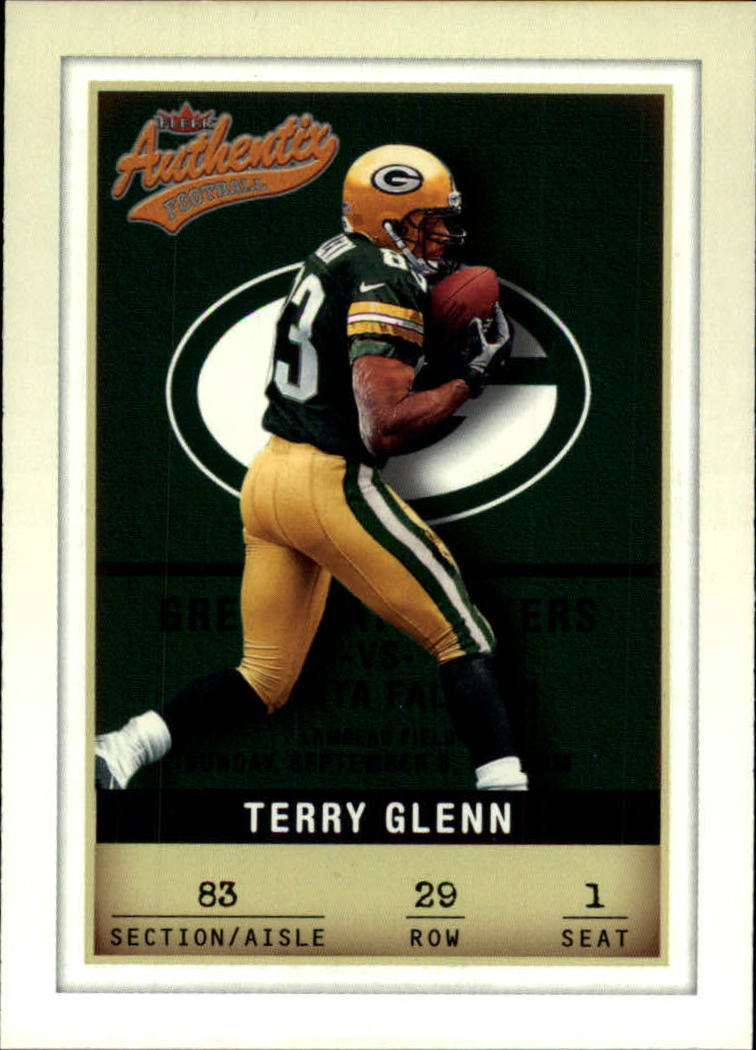 2002 Fleer Authentix #29 Terry Glenn