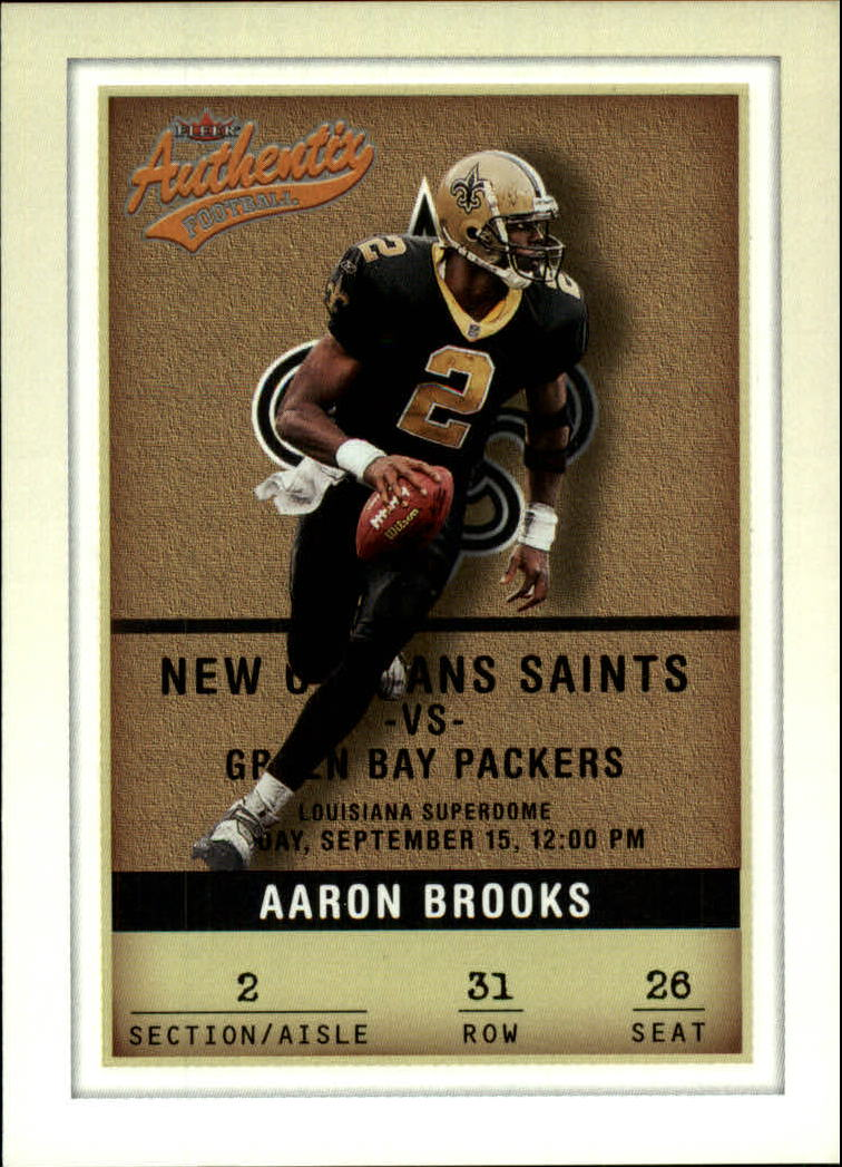 2002 Fleer Authentix #31 Aaron Brooks