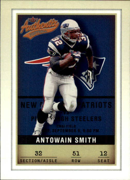 2002 Fleer Authentix #51 Antowain Smith