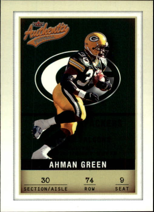 2002 Fleer Authentix #74 Ahman Green