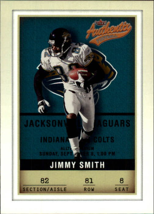 2002 Fleer Authentix #81 Jimmy Smith