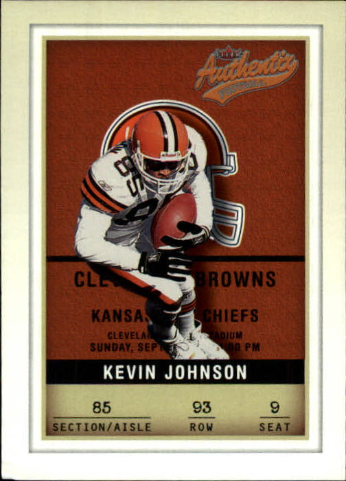2002 Fleer Authentix #93 Kevin Johnson