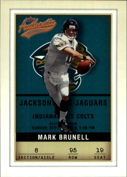 2002 Fleer Authentix #95 Mark Brunell