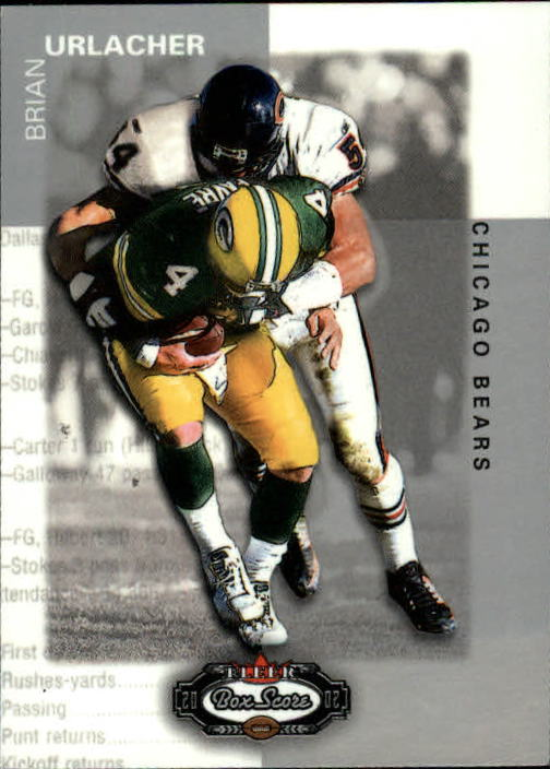 2002 Fleer Box Score #1 Brian Urlacher