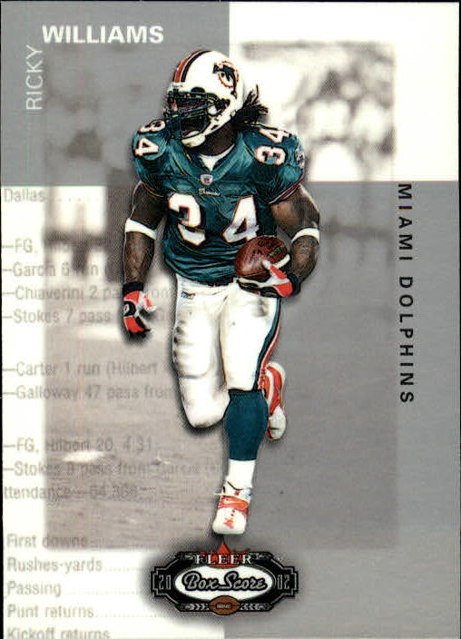 2002 Fleer Box Score #3 Ricky Williams