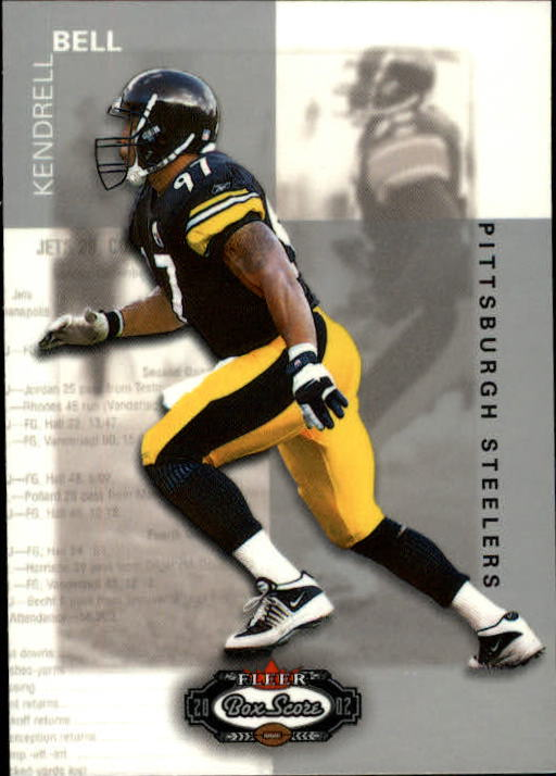 2002 Fleer Box Score #7 Kendrell Bell