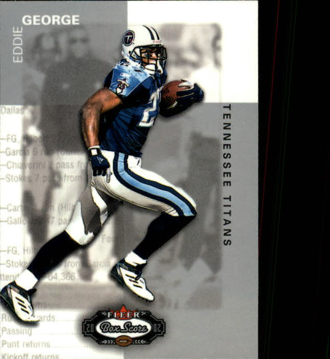 2002 Fleer Box Score #12 Eddie George