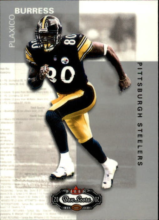 2002 Fleer Box Score #17 Plaxico Burress