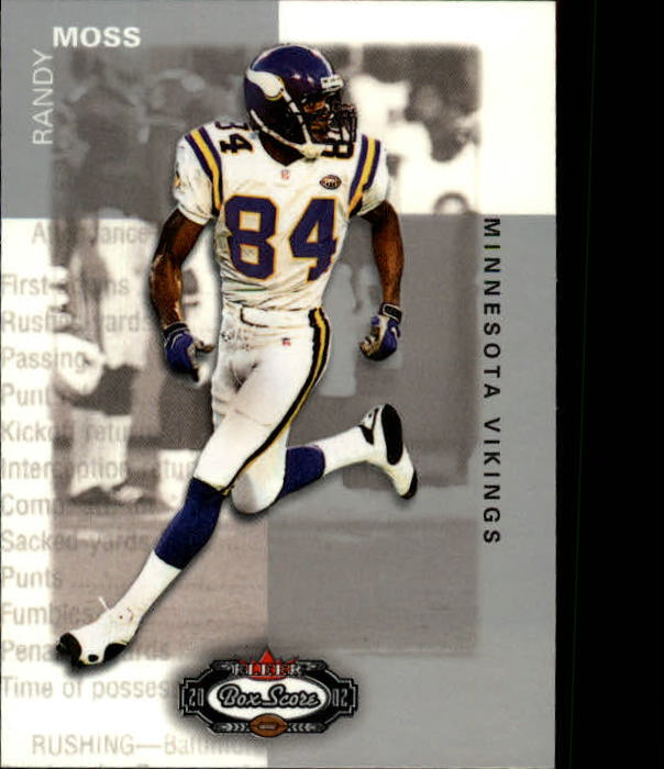 2002 Fleer Box Score #18 Randy Moss