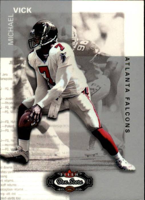 2002 Fleer Box Score #20 Michael Vick