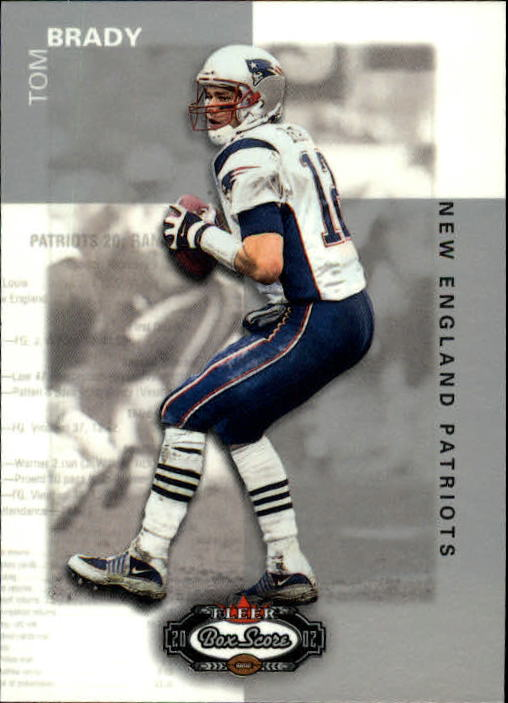 2002 Fleer Box Score #22 Tom Brady