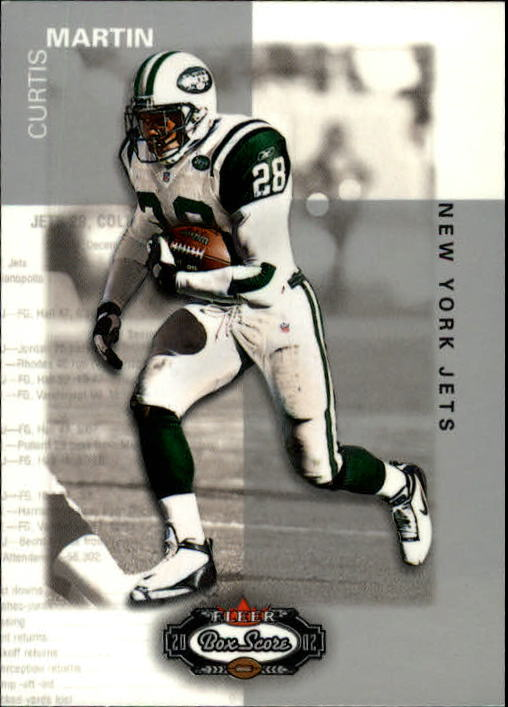 2002 Fleer Box Score #25 Curtis Martin