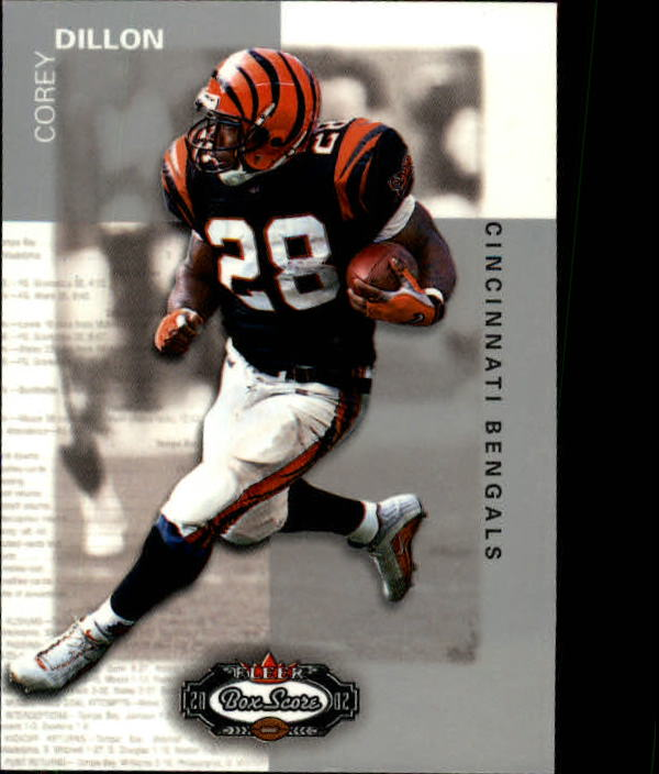 2002 Fleer Box Score #30 Corey Dillon