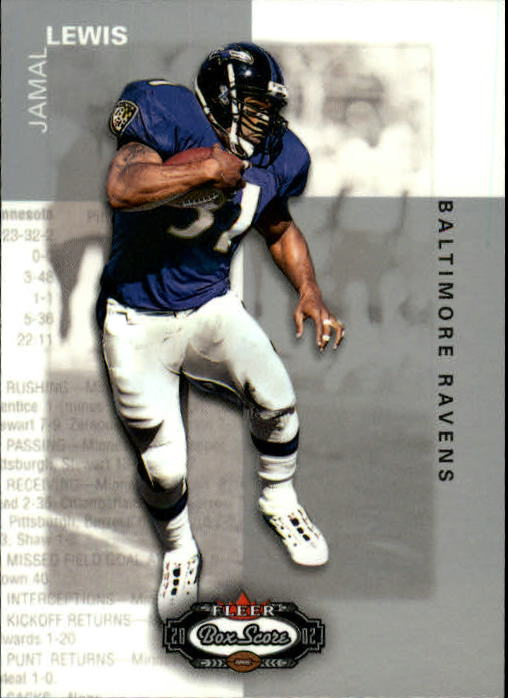 2002 Fleer Box Score #33 Jamal Lewis