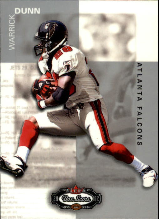 2002 Fleer Box Score #38 Warrick Dunn