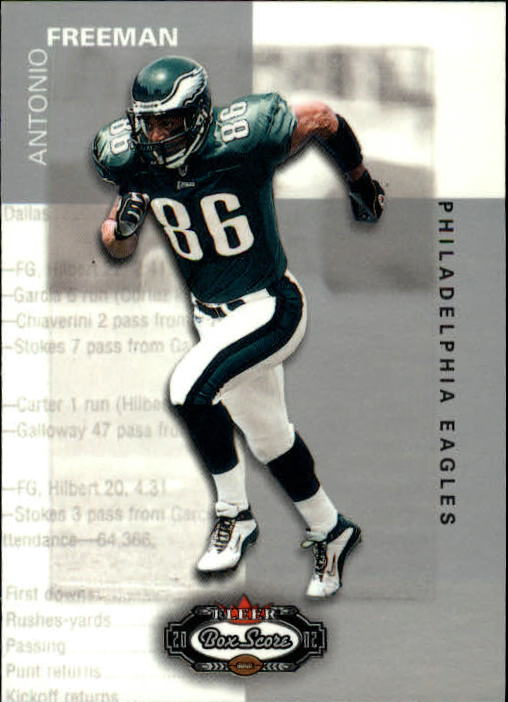 2002 Fleer Box Score #40 Antonio Freeman