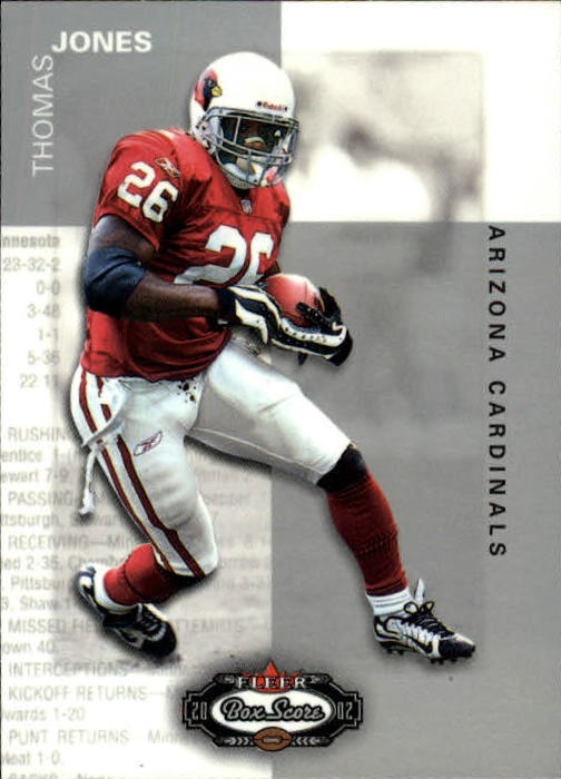 2002 Fleer Box Score #57 Thomas Jones