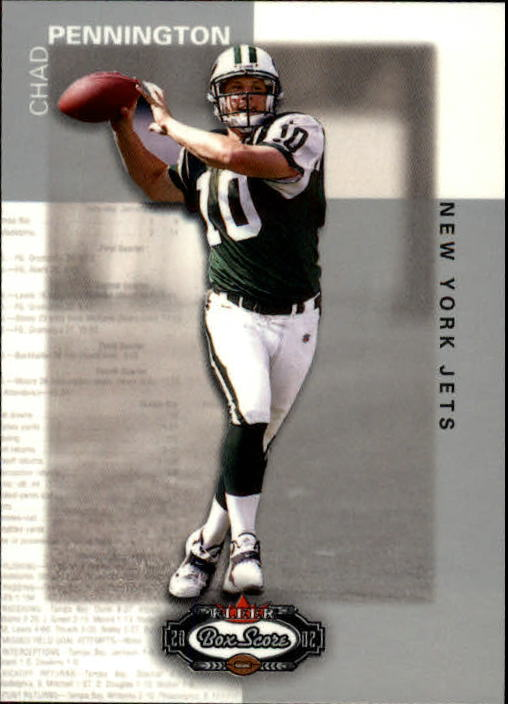 2002 Fleer Box Score #63 Chad Pennington