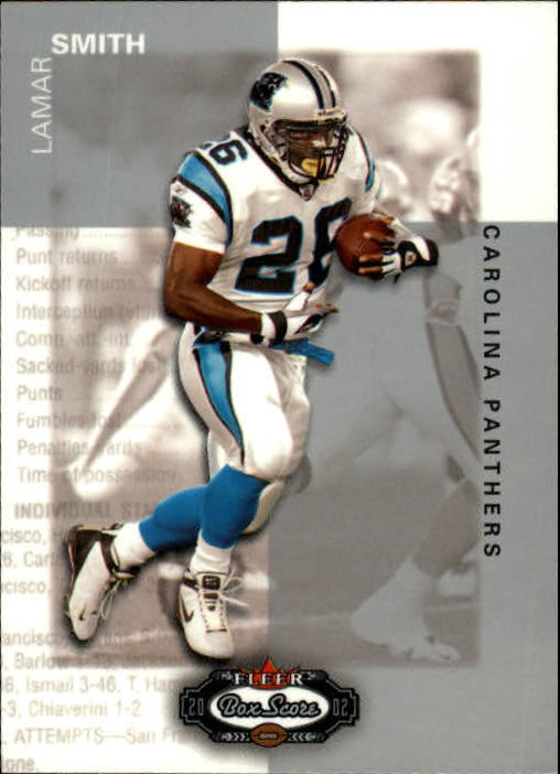 2002 Fleer Box Score #72 Lamar Smith