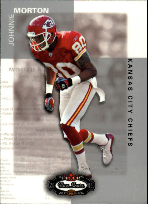 2002 Fleer Box Score #98 Johnnie Morton