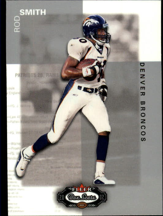 2002 Fleer Box Score #100 Rod Smith