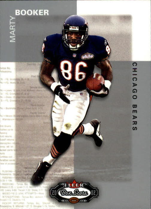 2002 Fleer Box Score #103 Marty Booker