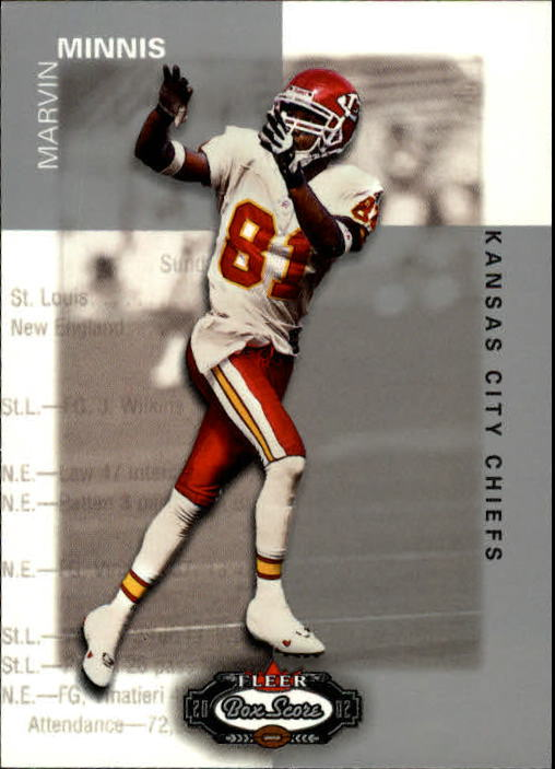 2002 Fleer Box Score #105 Snoop Minnis