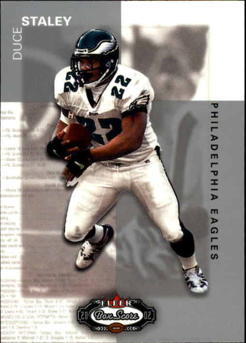 2002 Fleer Box Score #108 Duce Staley