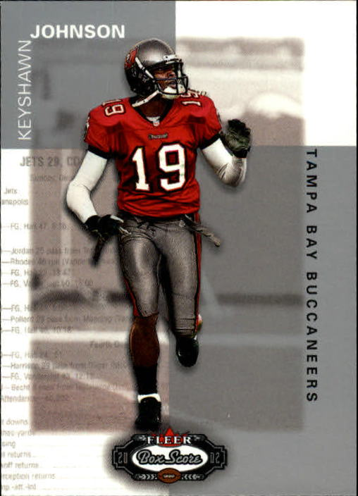 2002 Fleer Box Score #111 Keyshawn Johnson