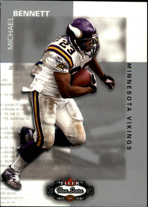 2002 Fleer Box Score #114 Michael Bennett