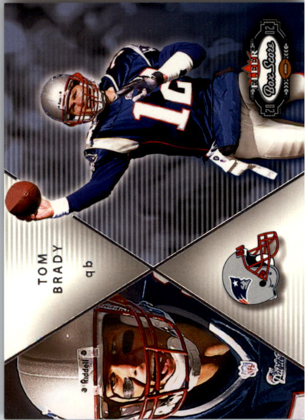 2002 Fleer Box Score #198 Tom Brady QBC
