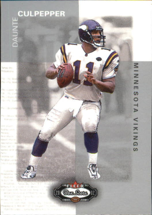 2002 Fleer Box Score Classic Miniatures #8 Daunte Culpepper