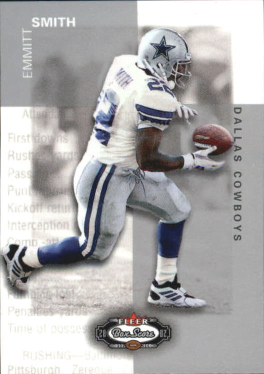 2002 Fleer Box Score Classic Miniatures #15 Emmitt Smith