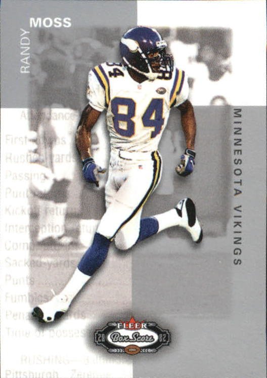 2002 Fleer Box Score Classic Miniatures #18 Randy Moss