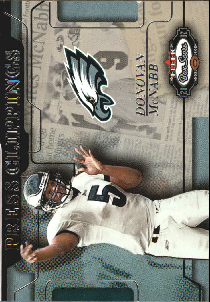 2002 Fleer Box Score Press Clippings #7 Donovan McNabb