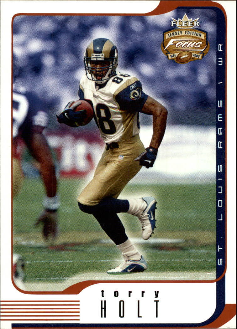2002 Fleer Focus JE #33 Torry Holt