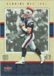 2002 Fleer Genuine Reflection Ascending #43 Tom Brady/43