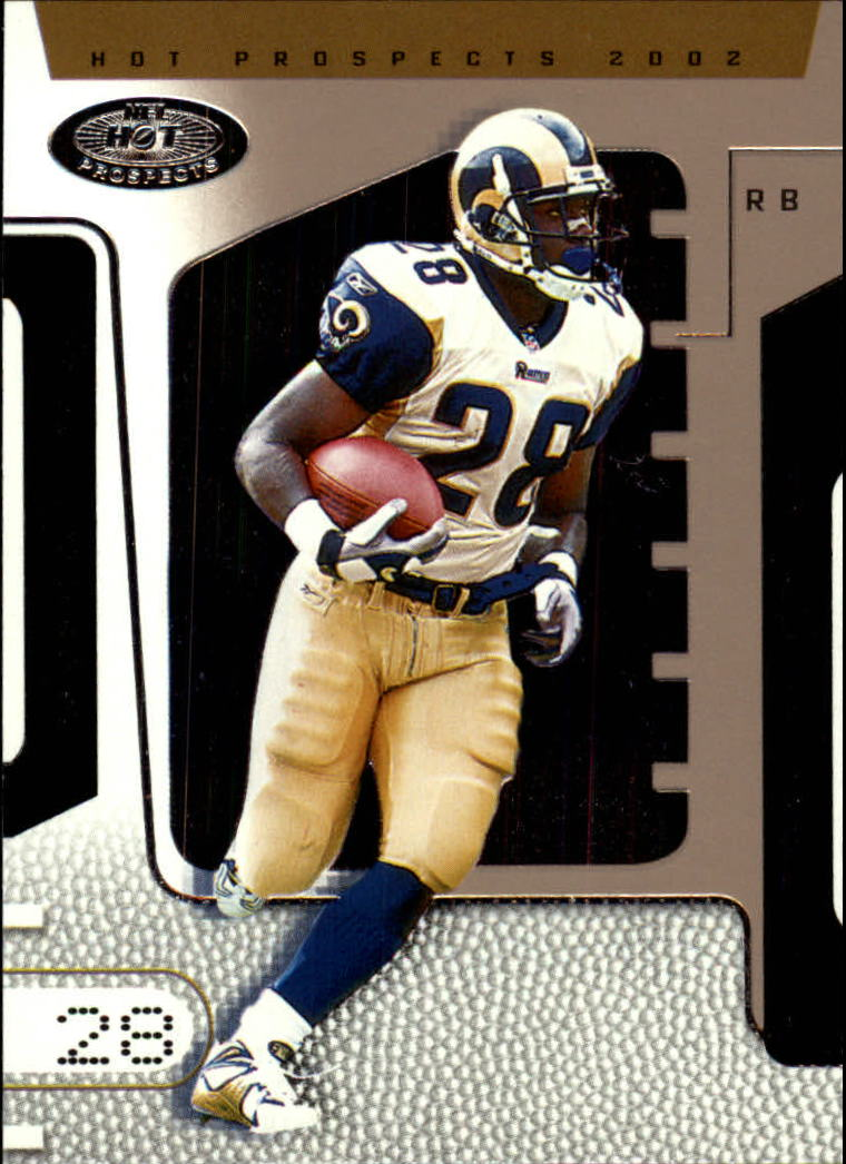 2002 Hot Prospects #7 Marshall Faulk