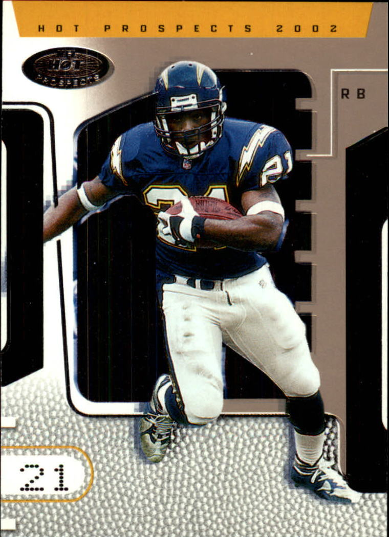 2002 Hot Prospects #45 LaDainian Tomlinson