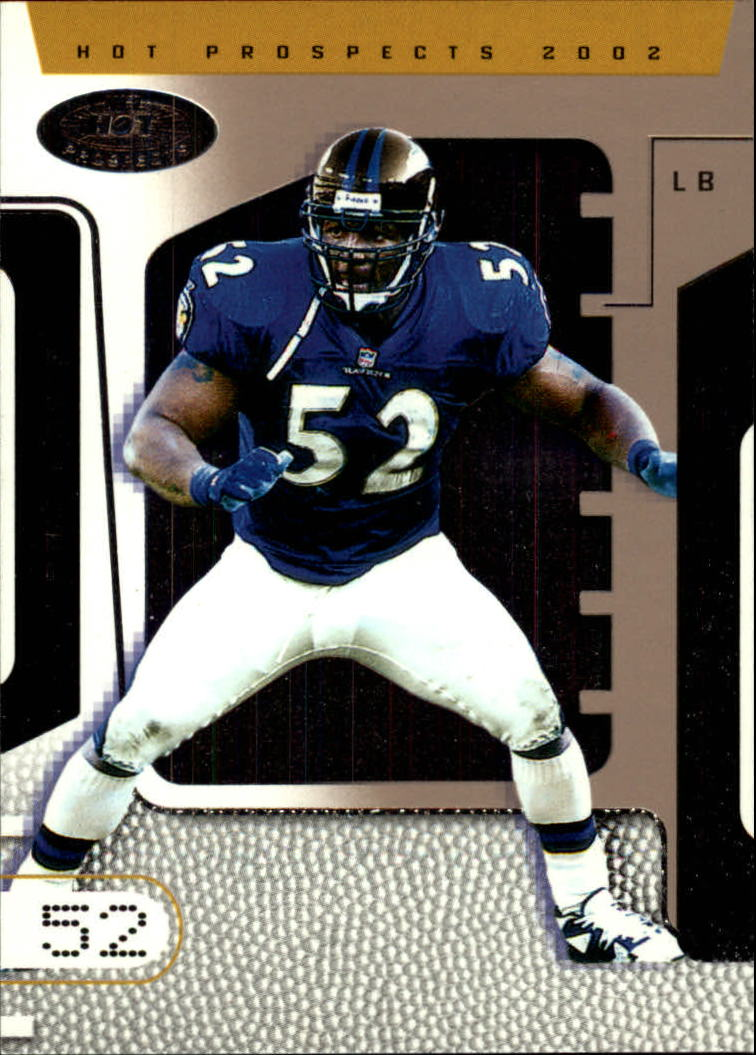 2002 Hot Prospects #59 Ray Lewis