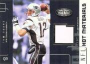2002 Hot Prospects Hot Materials #HMTB Tom Brady
