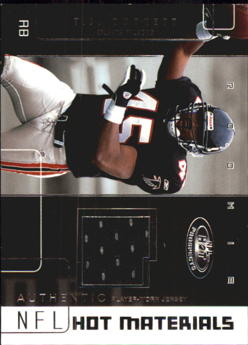 2002 Hot Prospects Hot Materials #HMTD T.J. Duckett