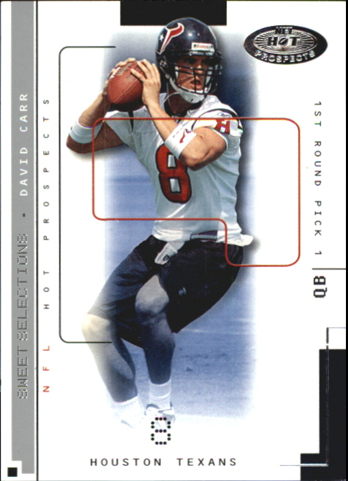 2002 Hot Prospects Sweet Selections #1 David Carr