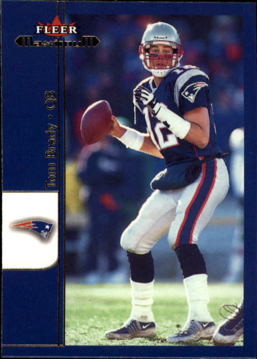 2002 Fleer Maximum #1 Tom Brady front image