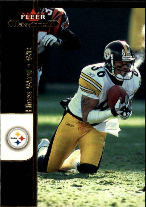 2002 Fleer Maximum #48 Hines Ward front image