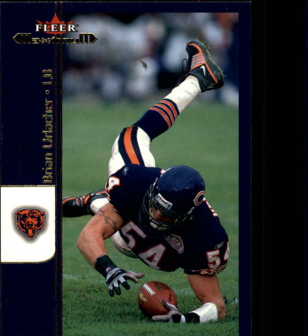 2002 Fleer Maximum #124 Brian Urlacher